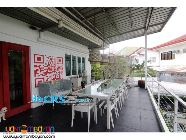 House in Banilad Cebu City With Swimming Pool