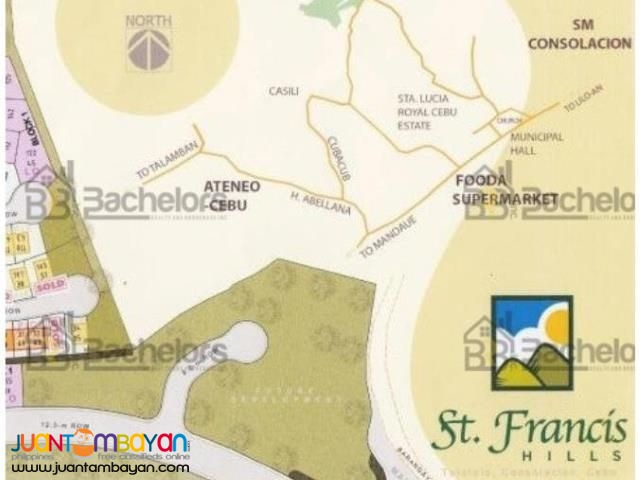 St. Francis Hills Lot Only For Sale