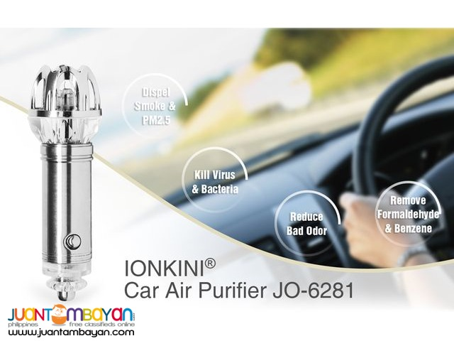 CAR ANION AIR PURIFIER AUTO AIR PURIFIER OXYGEN BAR IONIZER