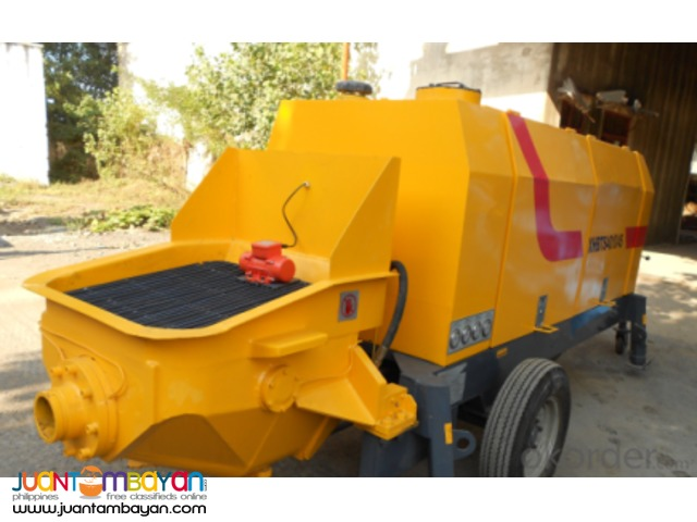 HBTS60 CONCRETE PUMP TRAILER 60 CUBIC