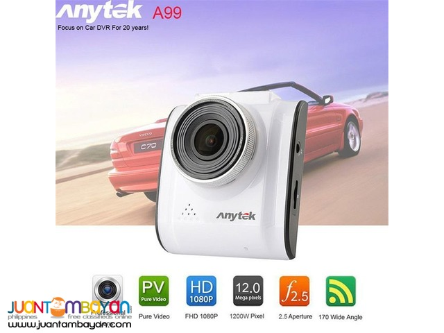 ANYTEK A99 CAR DASH CAMERA