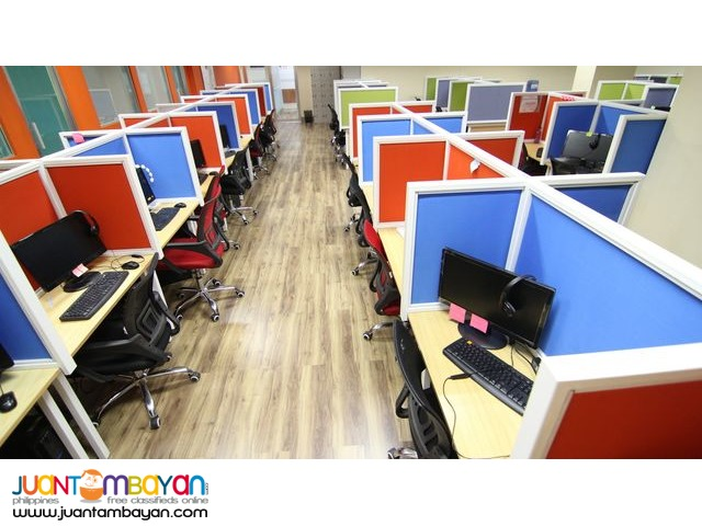 Well-equipped Call Center Seat Lease in Metro Cebu
