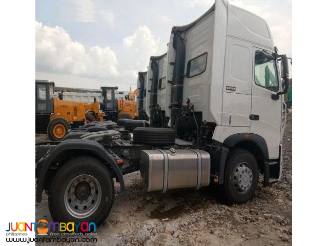 HOWO A7 Euro IV Tractor Head 380HP 4x2 Sinotruk