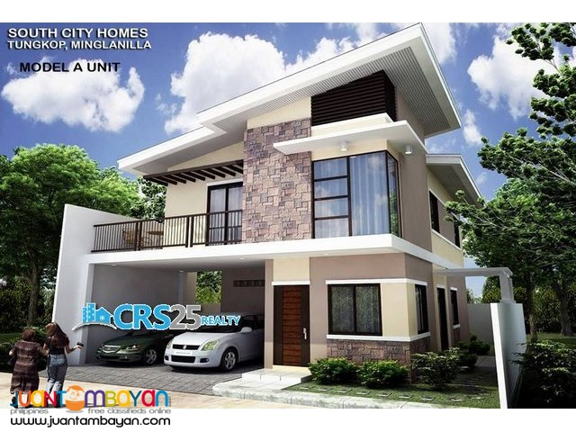 South City Homes in Minglanilla Cebu, House A