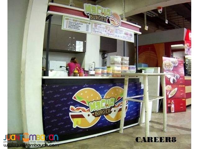 Affordable Food Business Fries Shake Burger Milk Tea Franchise