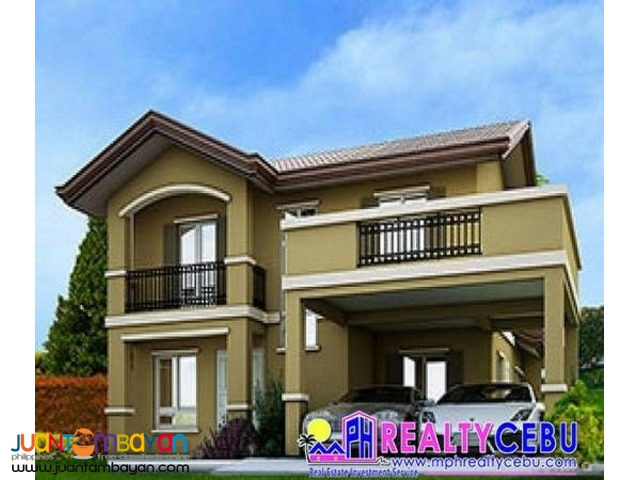 187m²,4BR Greta Model House For Sale At Camella Cebu