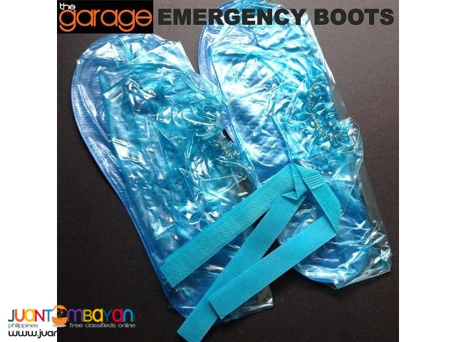 EMERGENCY BOOTS ,Foldable Shoe Cover , Rain Boots