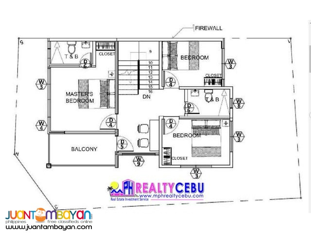 120m² 4BR House at Villa Sonrisa in Liloan