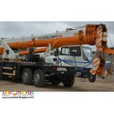 QY55 ZOOMLION MOBILE TRUCK CRANE