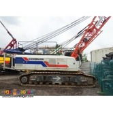 ZCC550 ZOOMLION CRAWLER CRANE For Sale