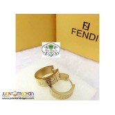 FENDI EARRINGS - BRANDED EARRINGS DESIGN