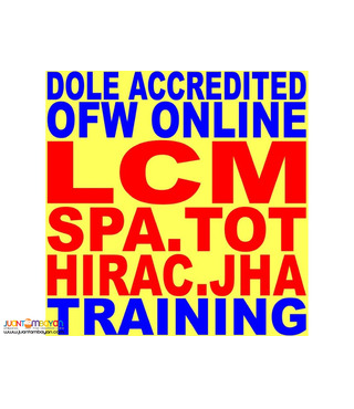 Ofw Online Training Online Safety Officer Lcm Spa Hirac Tot Dole so3
