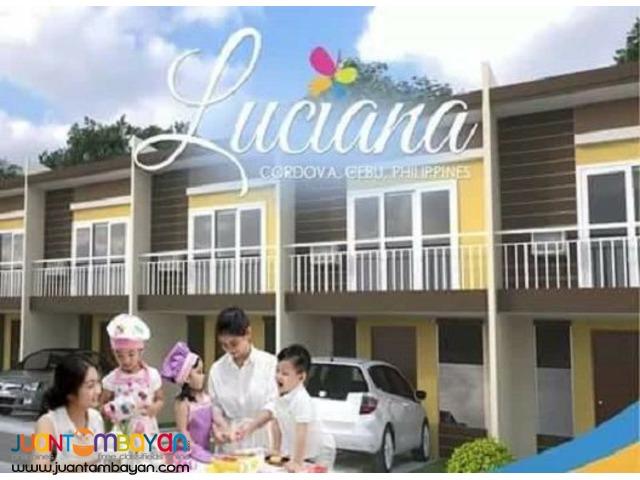 Luciana Homes 2-Storey Townhouse Semi-Finished Gabi,Cordoba Cebu