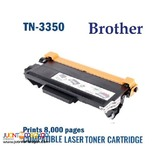Original Brother TN3350 Black Toner Cartridge FREE DELIVERY