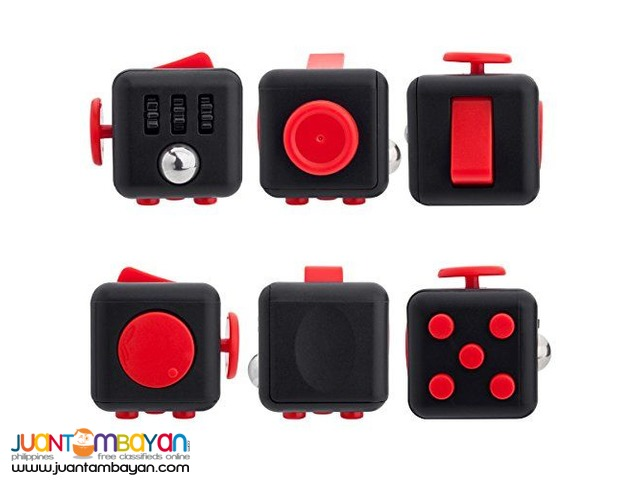 FIDGET CUBE TOY 3.3 CM STRESS RELIEVER MAGIC CUBE TOYS