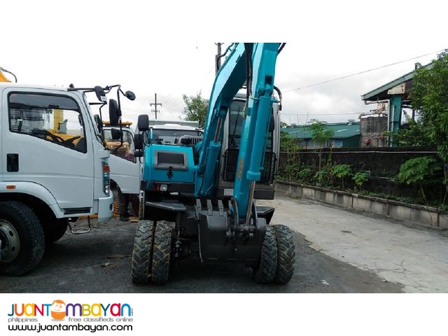 Backhoe  Loader JG608 (wheel type)