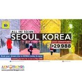 5D4N Korea All In Package with Airfare/ 2020