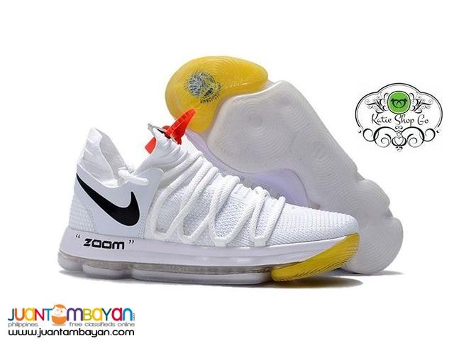 Nike Kd 10 Basketball Shoes Kd 10 2018 Off White X Taytay