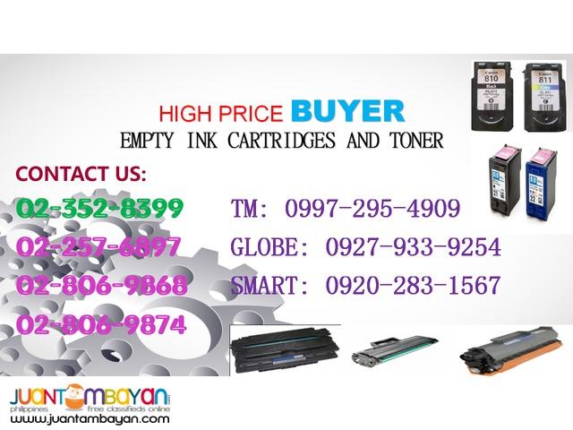 Buyer of Empty Ink and Toner Cartridge