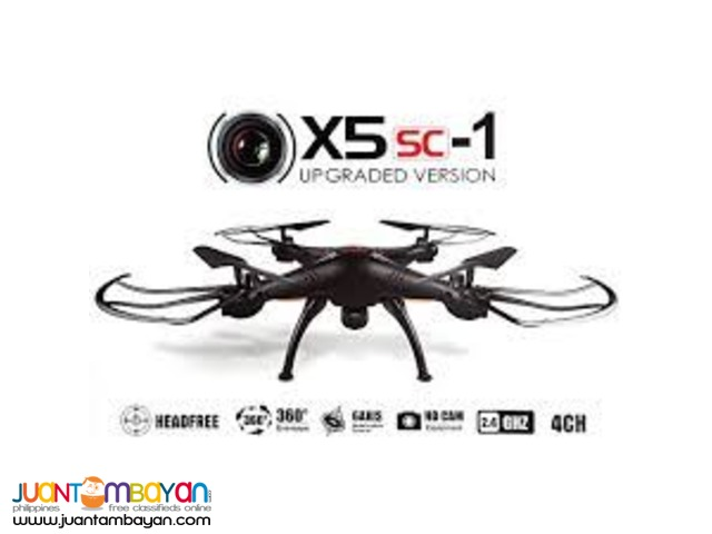 SYMA X5SC-1 FALCON W/ 2.0 HD CAMERA 4CHANNEL 2.4G RC QUADCOPTER