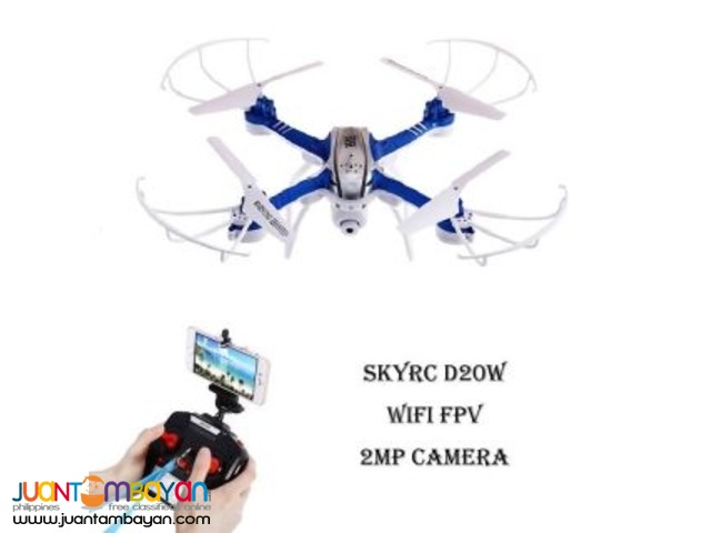 SKYRC D20W WIFI FPV 2MP CAMERA 2.4GHZ 4 CHANNEL