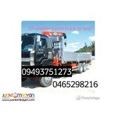 10 wheeler drop side 10 wheeler wing van for rent