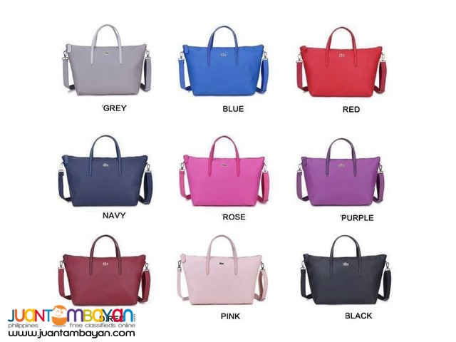 aa3ce61e2681 LACOSTE TOTE BAG WITH SLING - LACOSTE BAG SALE Taytay
