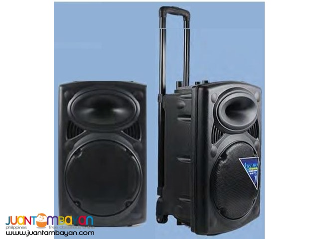 Eiki WPA200 Portable Wireless Public Address System Trolley Type