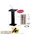 Sanha SH420 Lectern Podium Portable Wireless PA System