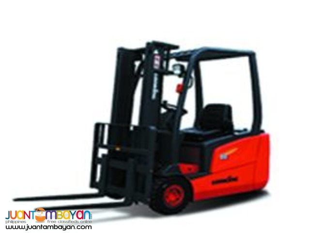 Sale! LG18BE Electric Forklift, 3 Wheels (1800kg)