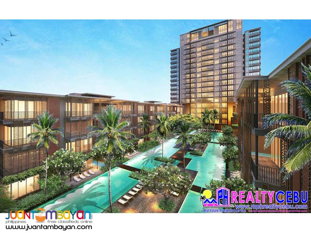 2 BEDROOM CONDO WITH PARKING SLOT AT THE SHERATON CEBU