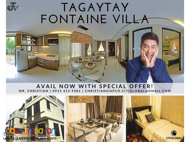 PROPERTY INVESTMENT IN TAGAYTAY