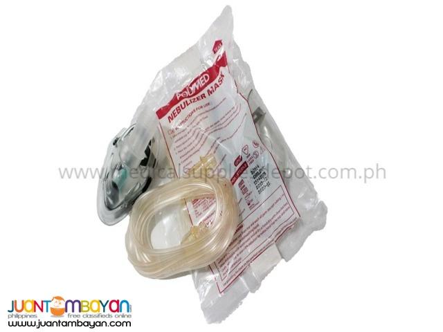 Polymed Nebulizer Kit with Mask (Adult/Pedia)