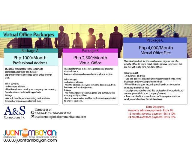 Virtual Office - Quezon City