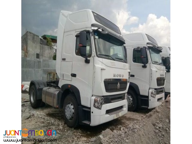 HOWO A7 Euro IV Tractor Head 380HP Sinotruk 6wheeler for sale
