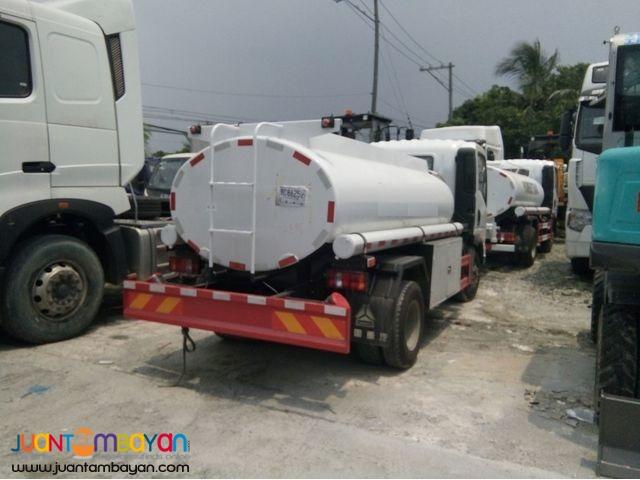 H3 Homan Fuel Tanker 4KL Sinotruk 6wheeler for sale