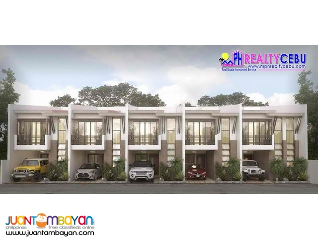 3BR 2T&B Townhouse at Jemsville in Lahug Cebu City