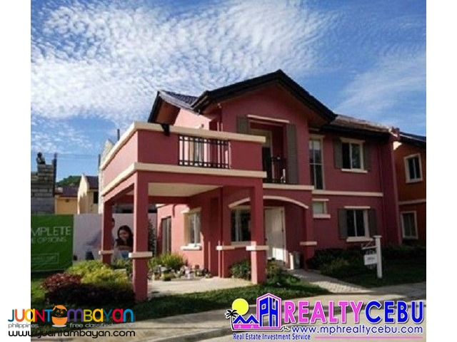 FREYA - 5 BR HOUSE FOR SALE IN CAMELLA RIVERFRONT TALAMBAN CEBU