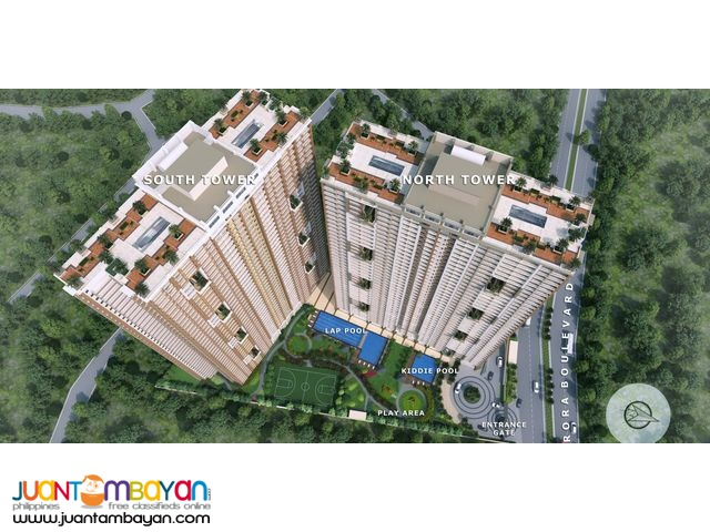 Affordable Condo in Quezon City 3BR 83.5sqm near MRT/LRT Stations