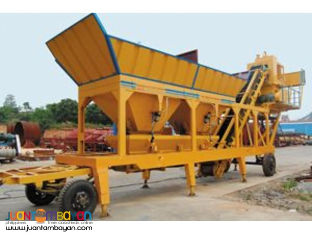 Brandnew Mobile Concrete Batching Plant YHZ35
