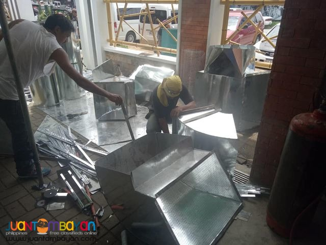 Duct works including installation and fabrication