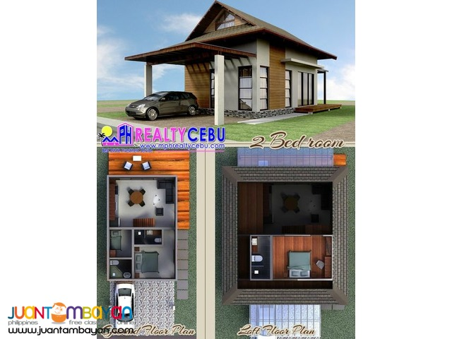 2BR 2T&B House for Sale in Aduna Villas Danao City Cebu
