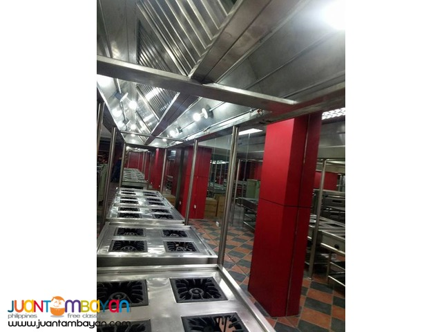 Commercial kitchen fire suppression