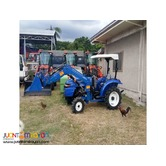 BRAND NEW UNIT! FARM TRACTOR WITH BACKHOE LOADER