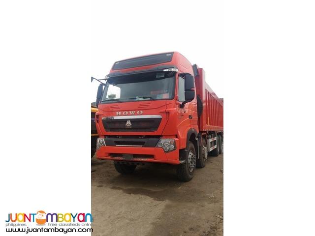 Euro IV HOWO A7 Dump Truck 30cubic Sinotruk 12wheeler for sale