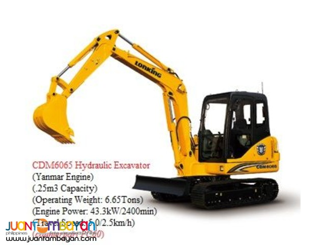 backhoe loader 25 cbm