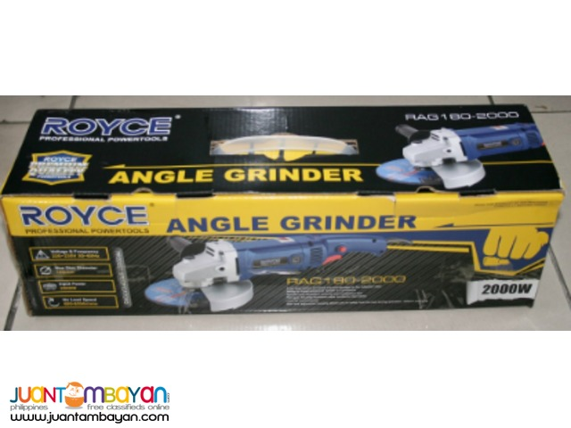 ROYCE ANGLE GRINDER 2000W