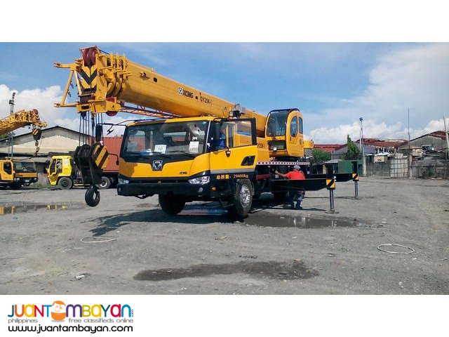 QY25K-II Tower Crane (41.50ft High)