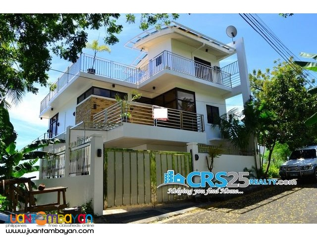 4 Storey Furnished House, 5 Bedrooms in Talisay Cebu City