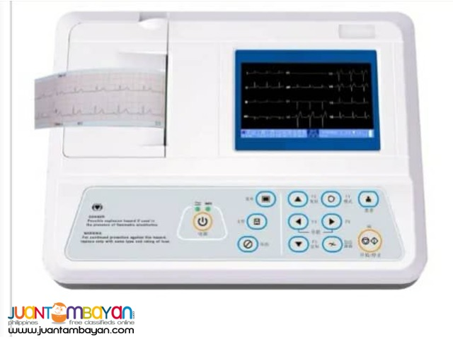 Cardinal USA 3 Channel ECG Machine with interpretation